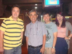 with Sandaya owner, Mr. Makoto Kobayashi